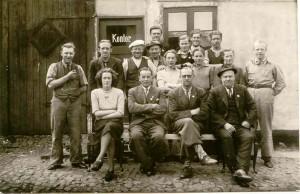 Personalet hos S.C. Christensen Maj 1945